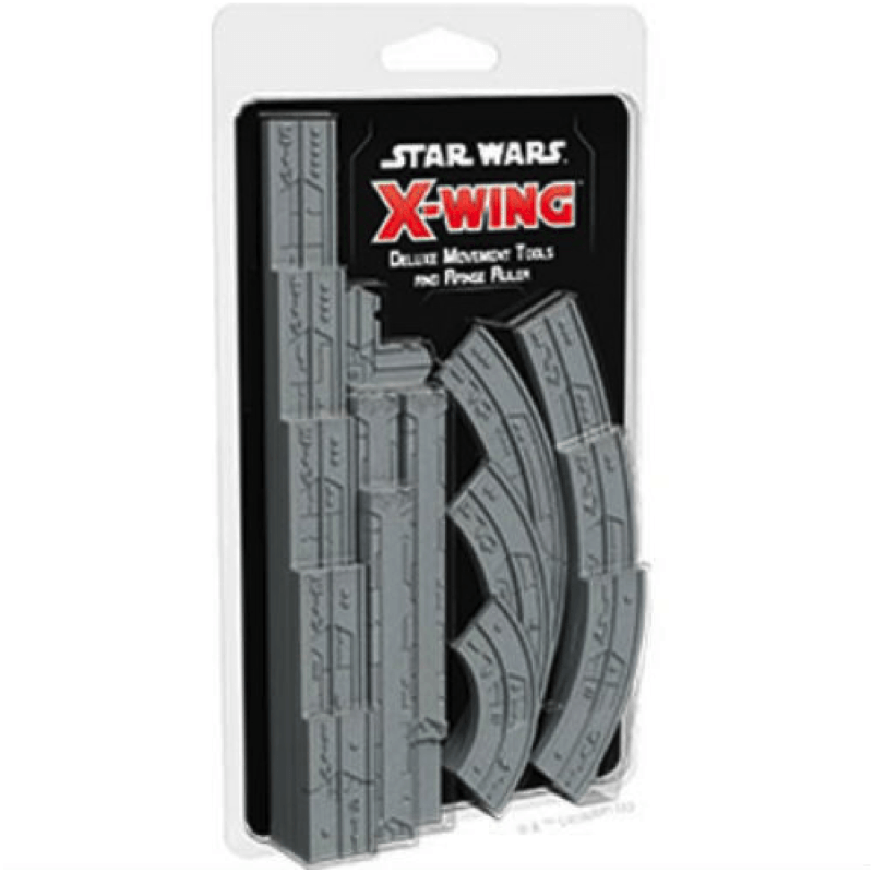 Star Wars: X-Wing (Second Edition) – Deluxe Movement Tools and Range Ruler