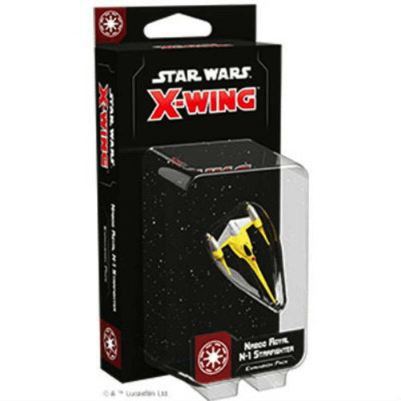 Star Wars: X-Wing (Second Edition) – Naboo Royal N-1 Starfighter Expansion Pack (PRE-ORDER)