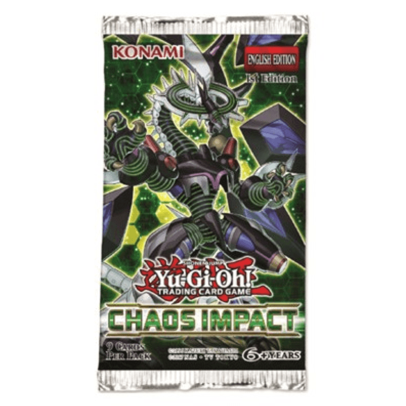 Yu-Gi-Oh! Chaos Impact 1st Edition Sealed Booster Pack