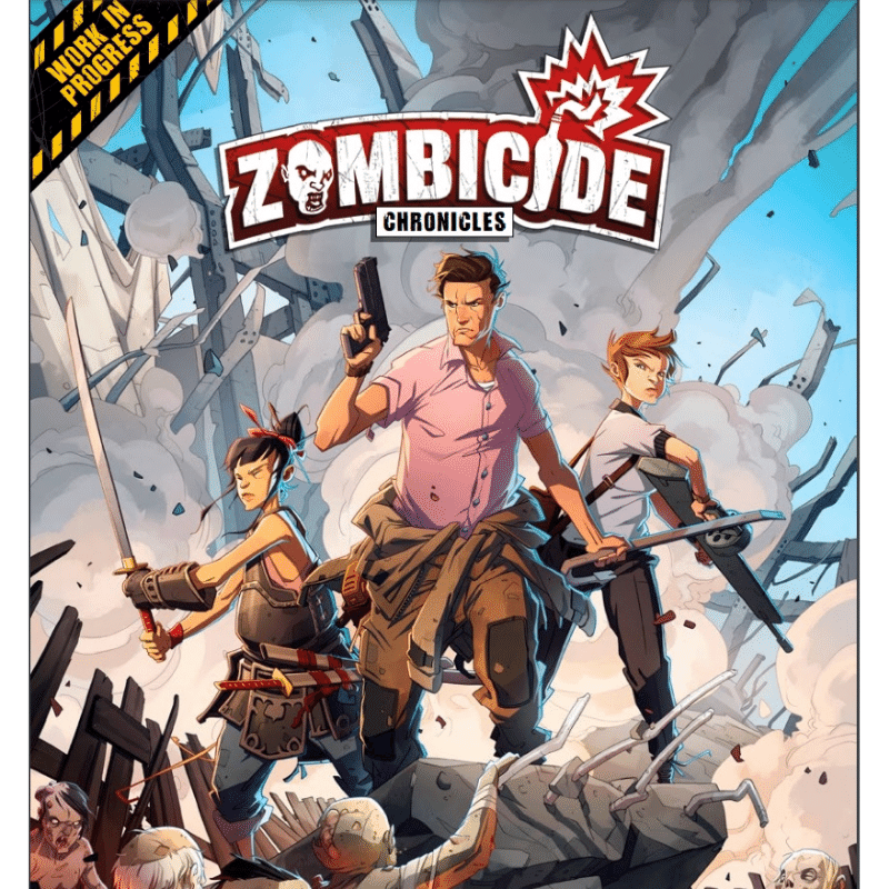 Zombicide: Chronicles RPG: Core Book (PRE-ORDER)