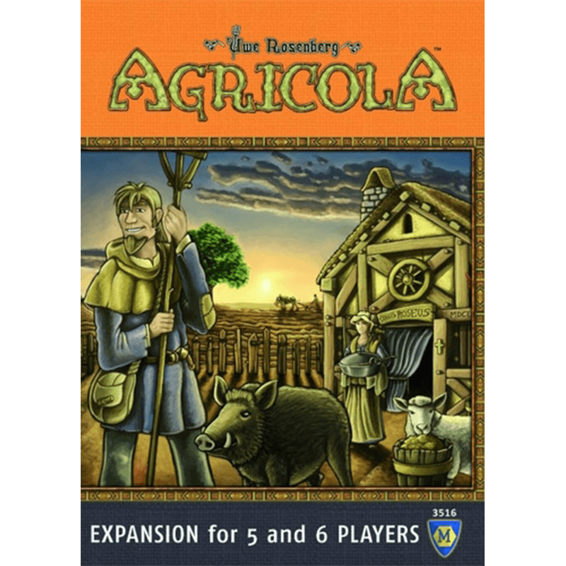 Agricola: Expansion for 5 and 6 Players - Thirsty Meeples