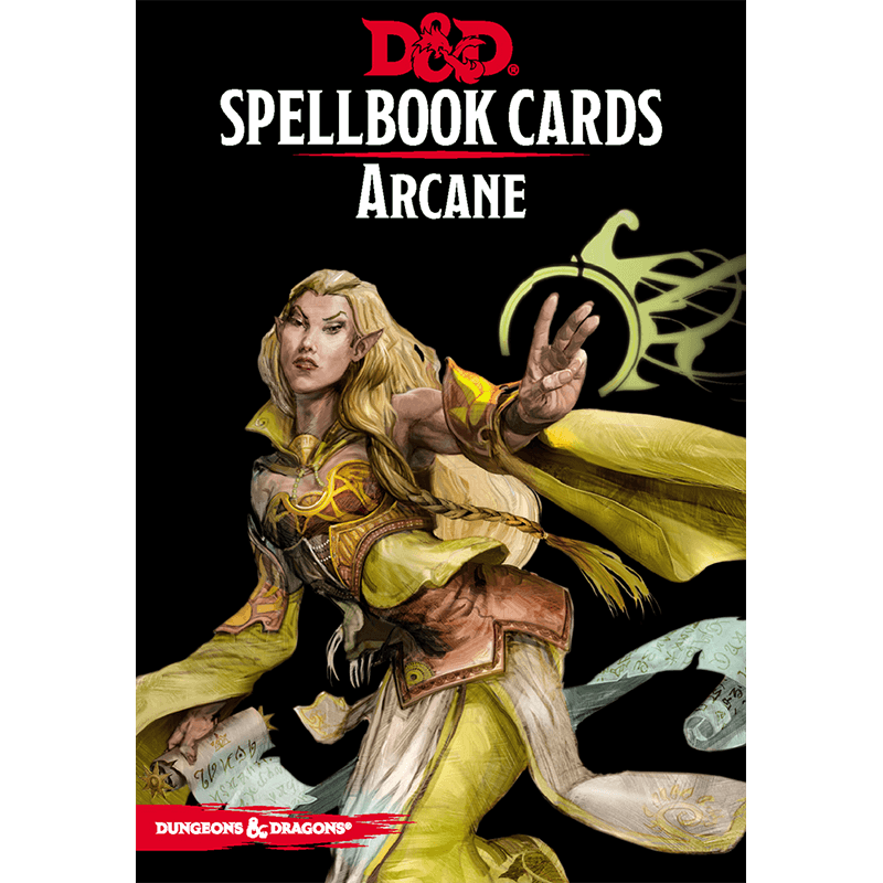 Dungeons & Dragons (5th Edition): Spellbook Cards - Arcane