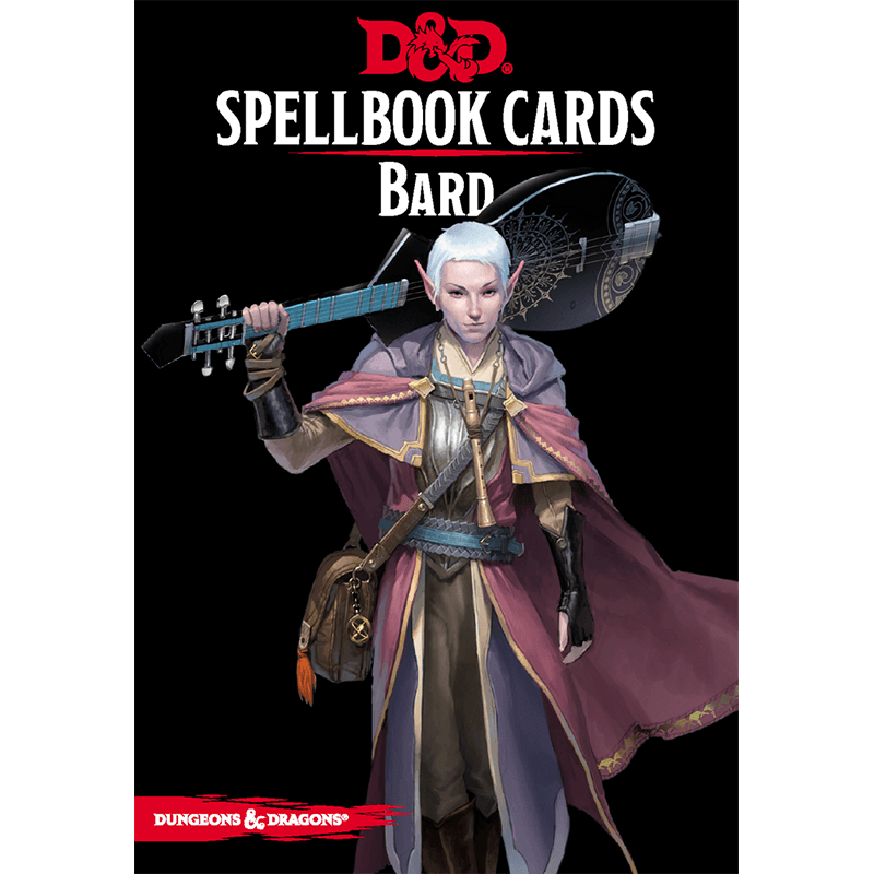 Dungeons & Dragons (5th Edition): Spellbook Cards - Bard
