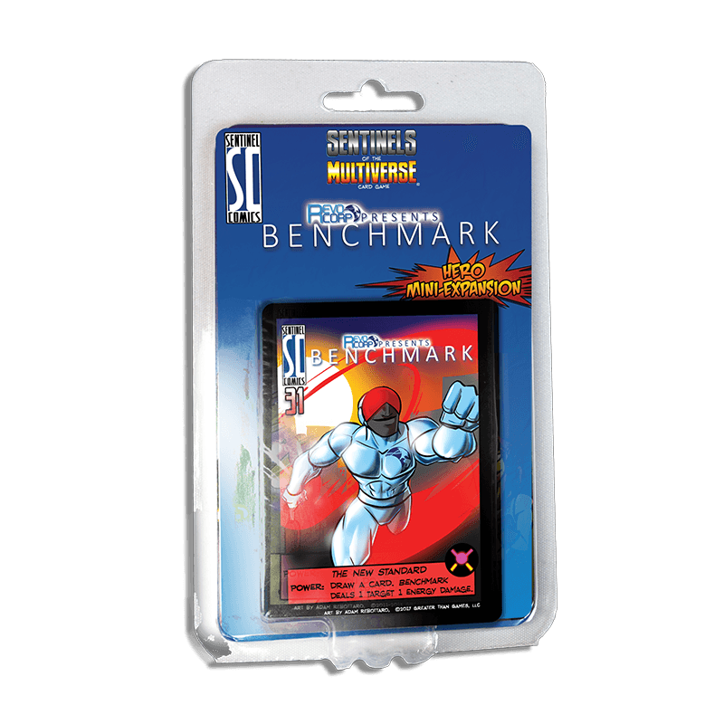 Sentinels of the Multiverse: Benchmark Hero Mini Expansion