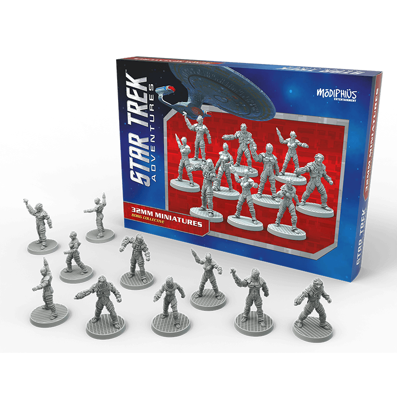 Star Trek Adventures: Borg Collective 32mm Miniatures