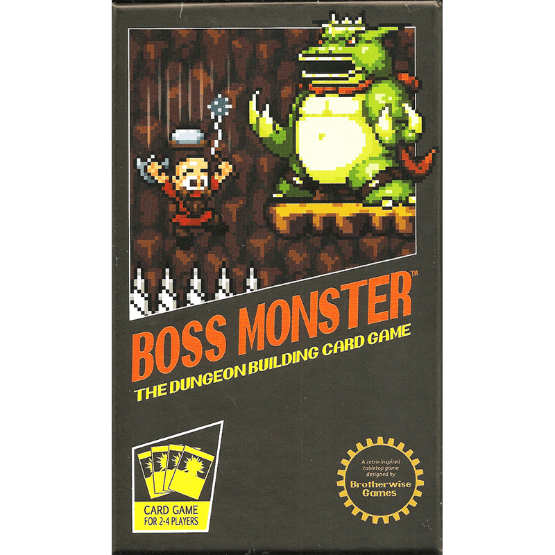 Boss Monster: The Dungeon Building Card Game - Thirsty Meeples