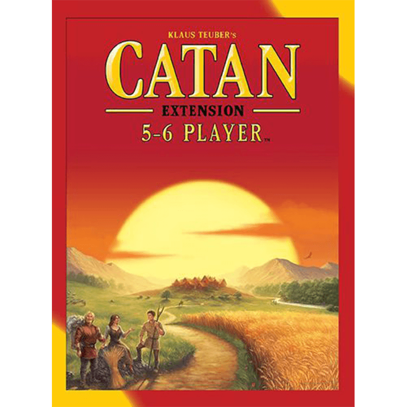 Catan (5th Edition): 5-6 Player Extension - Thirsty Meeples