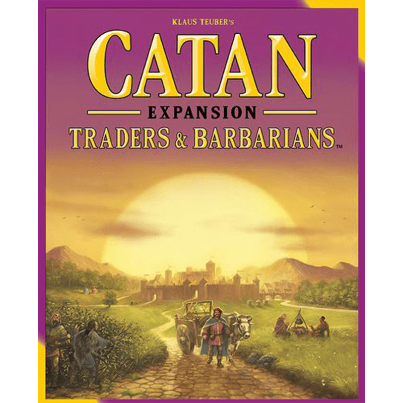 Catan (5th Edition): Traders & Barbarians Expansion - Thirsty Meeples