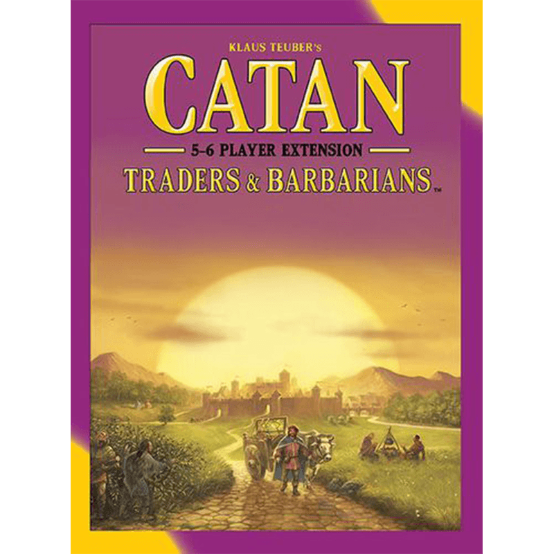 Catan (5th Edition): Traders & Barbarians 5-6 Player Extension