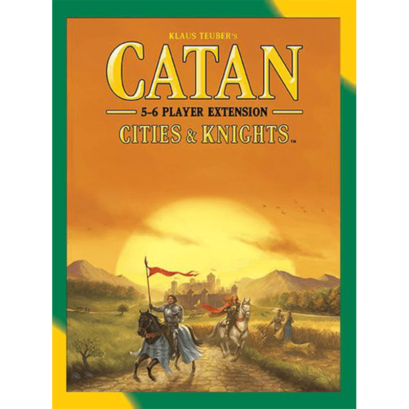 Catan (5th Edition): Cities & Knights 5-6 Player Extension - Thirsty Meeples