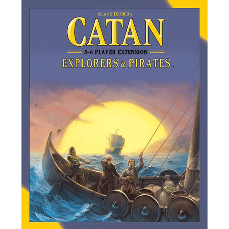 Catan (5th Edition): Explorers & Pirates 5-6 Player Extension