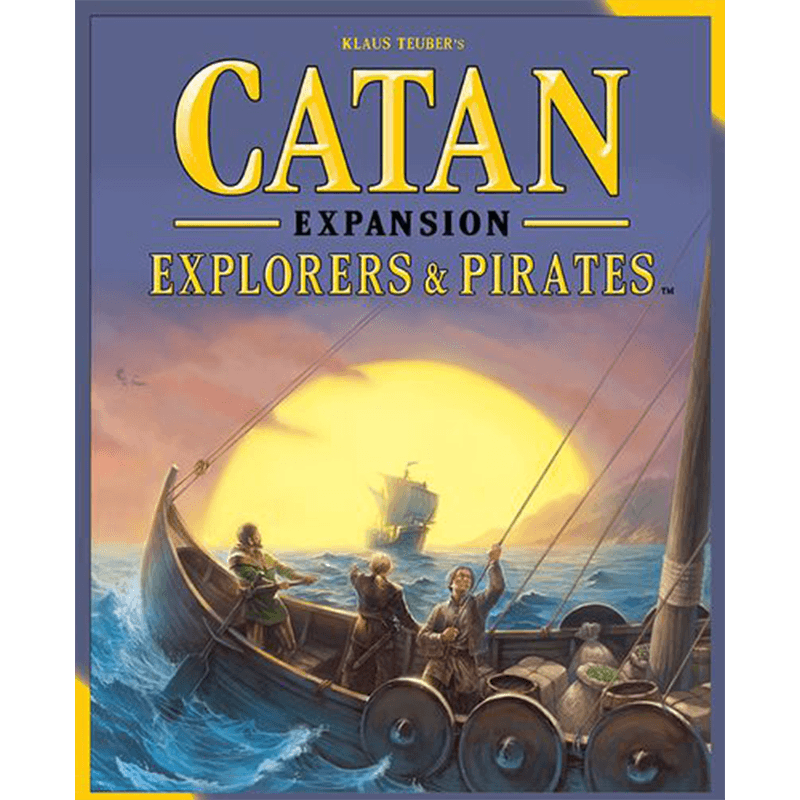 Catan (5th Edition): Explorers & Pirates Expansion - Thirsty Meeples