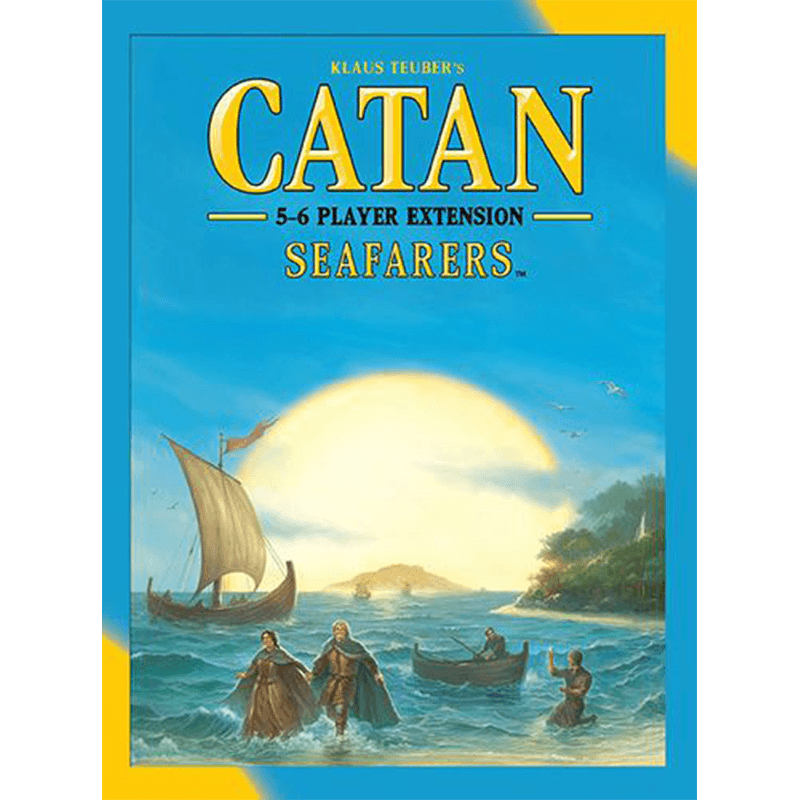 Catan (5th Edition): Seafarers 5-6 Player Extension - Thirsty Meeples