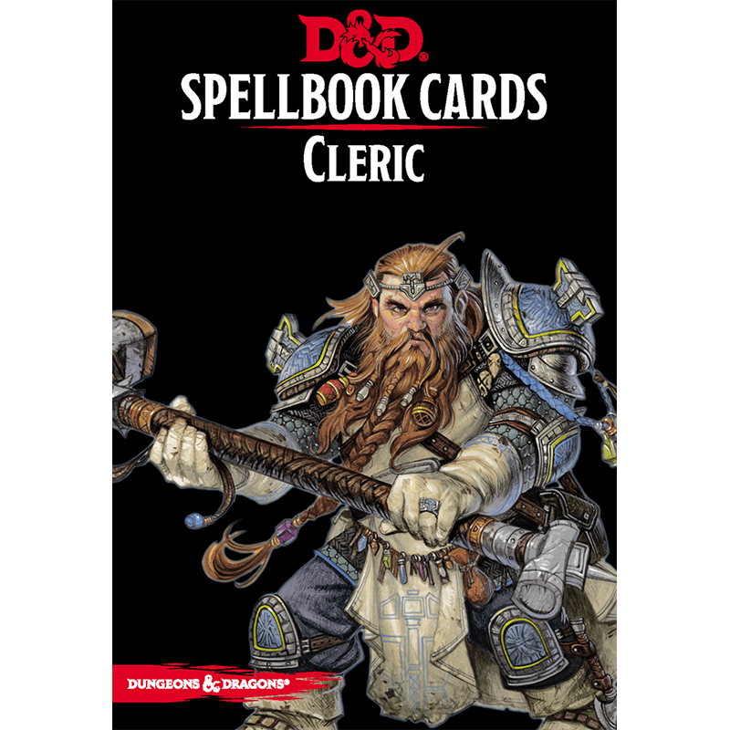 Dungeons & Dragons (5th Edition): Spellbook Cards - Cleric
