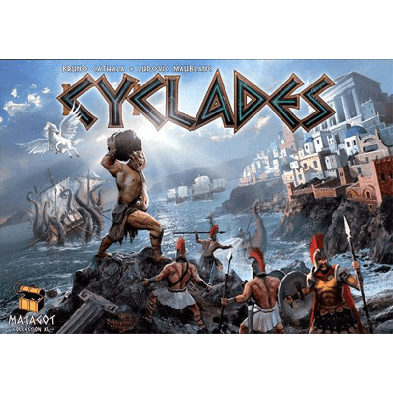 Cyclades - Thirsty Meeples