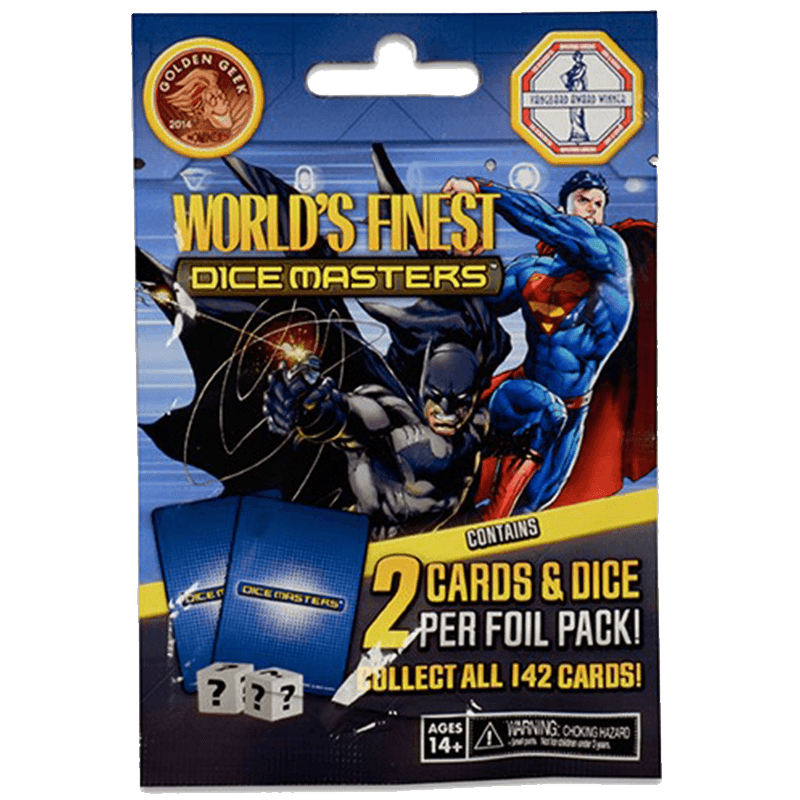 DC Comics Dice Masters: World's Finest - Foil Pack