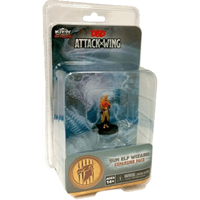 Dungeons & Dragons: Attack Wing – Sun Elf Wizard Expansion Pack