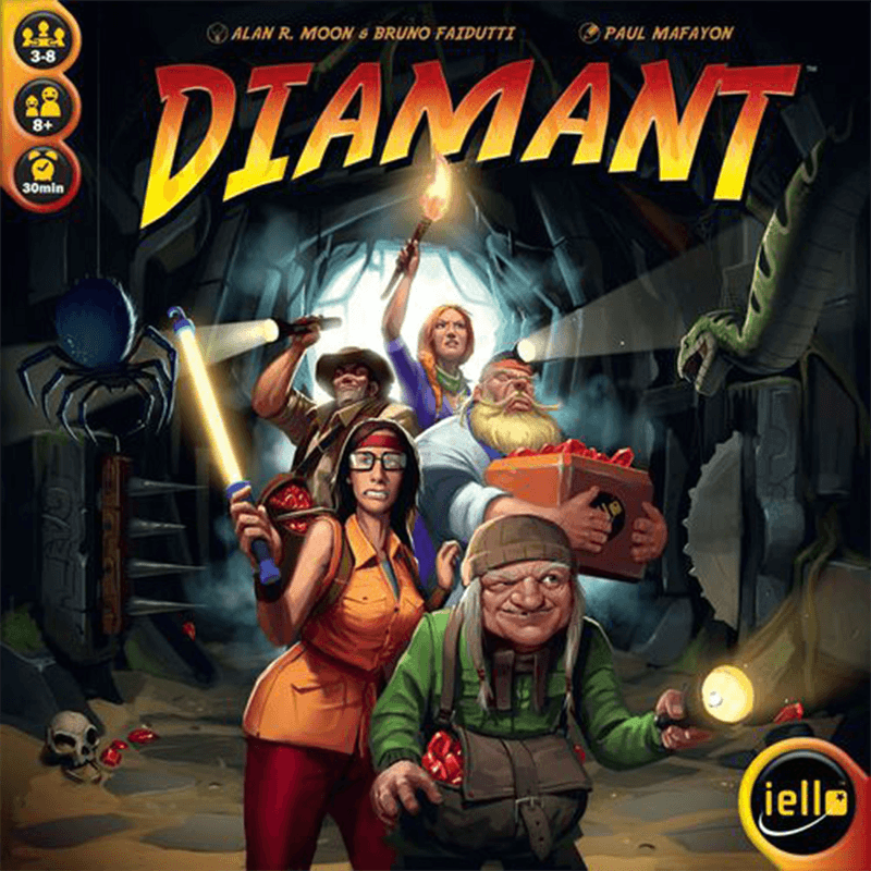 Diamant - Thirsty Meeples
