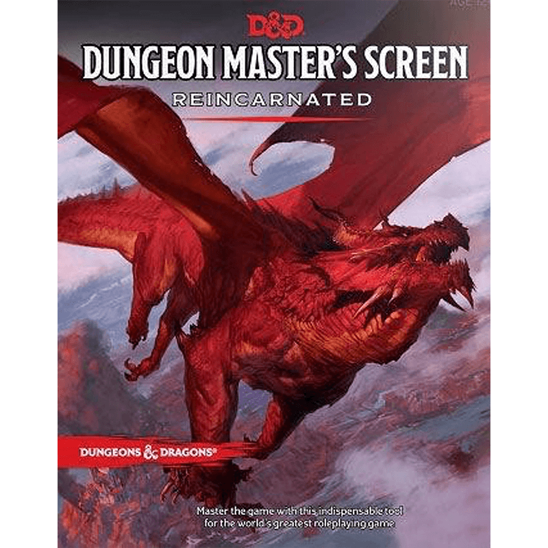 Dungeons & Dragons (5th Edition): Dungeon Master's Screen Reincarnated