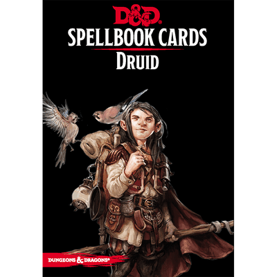 Dungeons & Dragons (5th Edition): Spellbook Cards - Druid