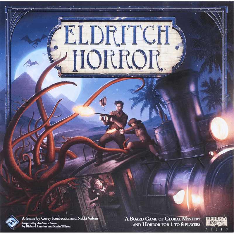 Eldritch Horror - Thirsty Meeples