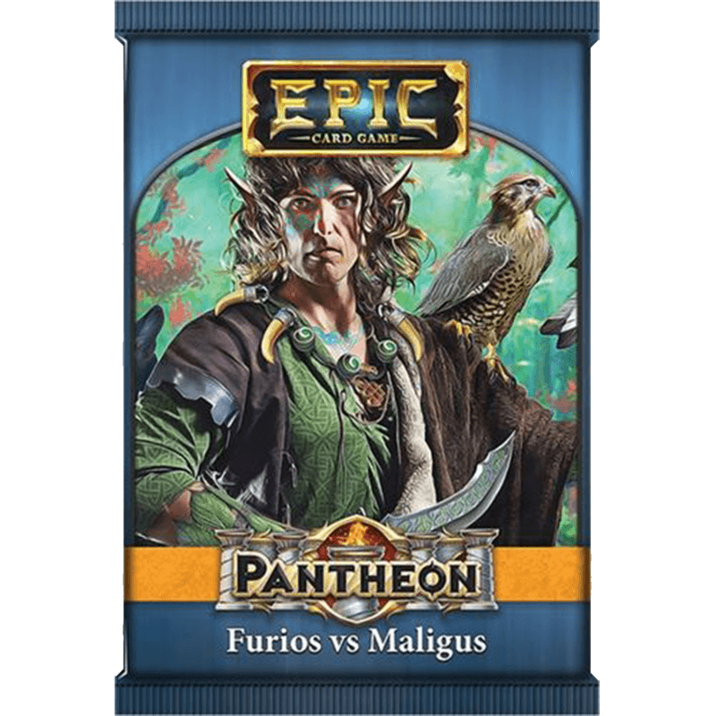 Epic Card Game: Pantheon – Furios vs Maligus