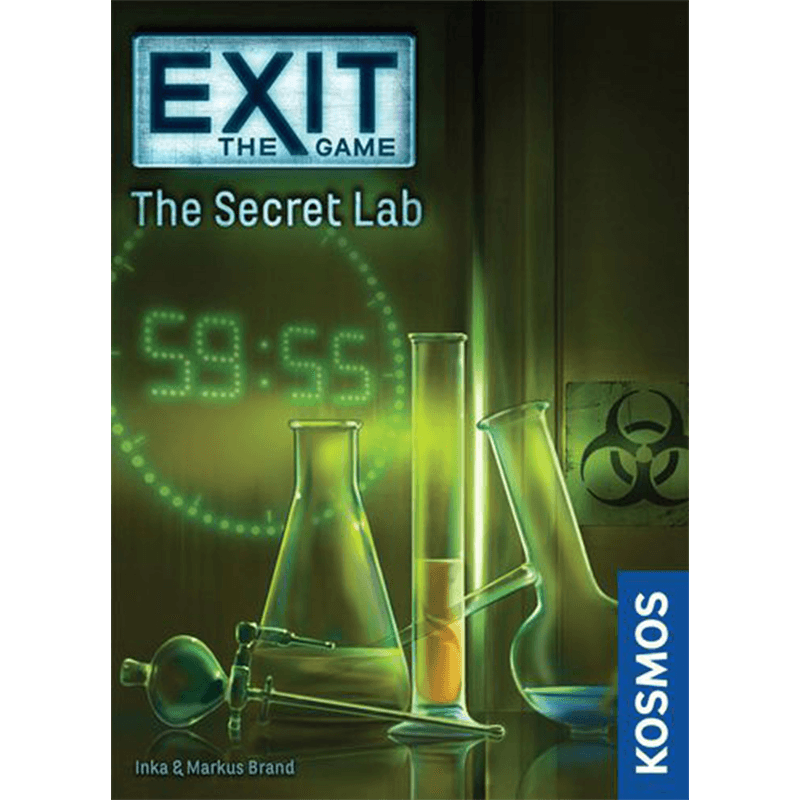 EXIT: The Game – The Secret Lab - Thirsty Meeples