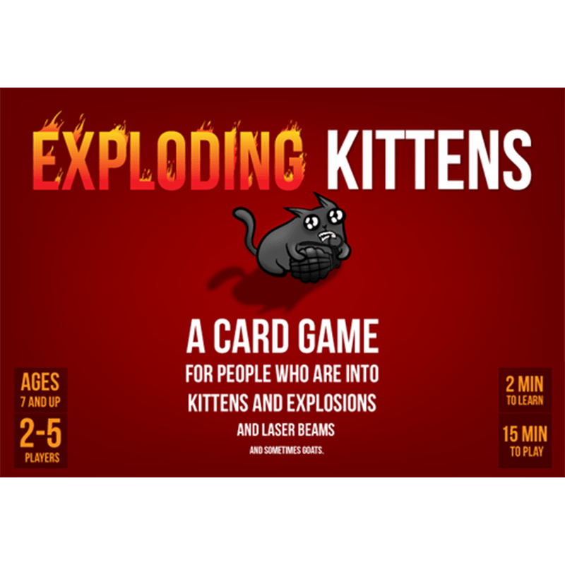 Exploding Kittens - Thirsty Meeples