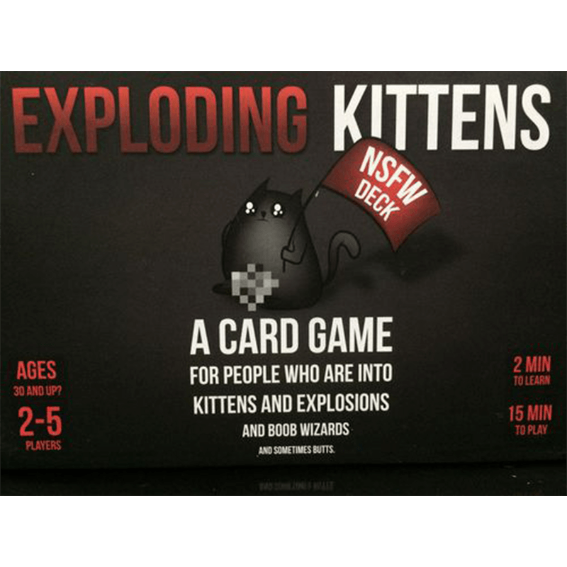 Exploding Kittens: NSFW Deck - Thirsty Meeples