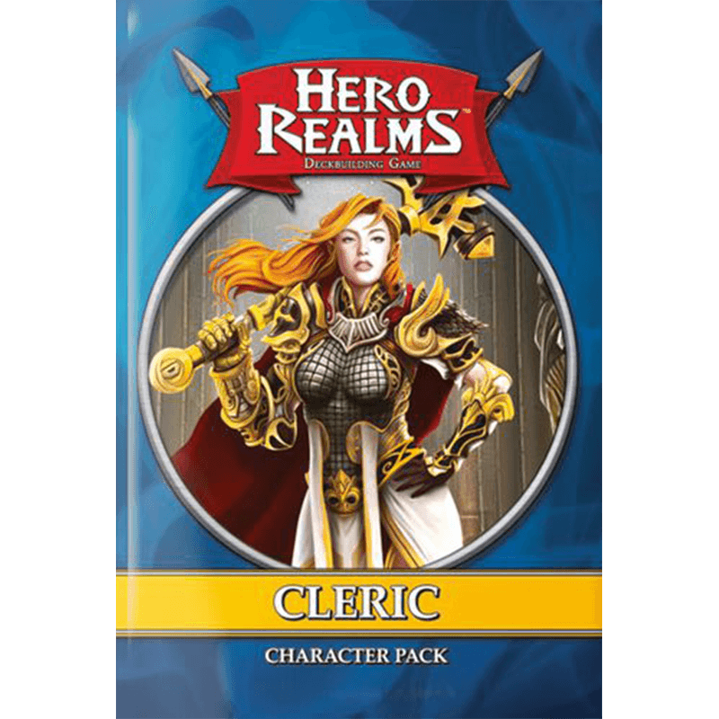 Hero Realms: Character Pack – Cleric - Thirsty Meeples