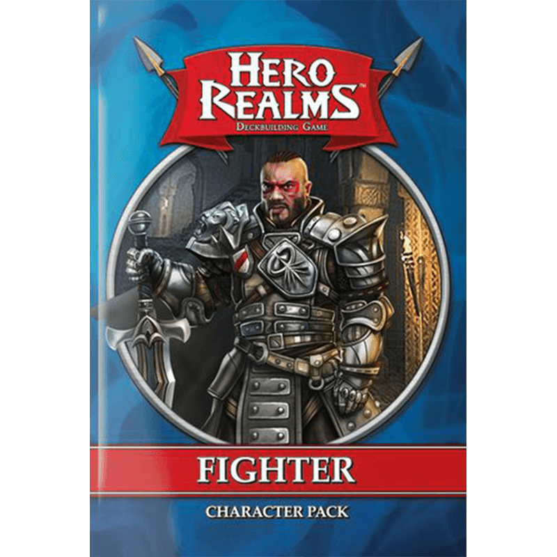 Hero Realms: Character Pack – Fighter - Thirsty Meeples