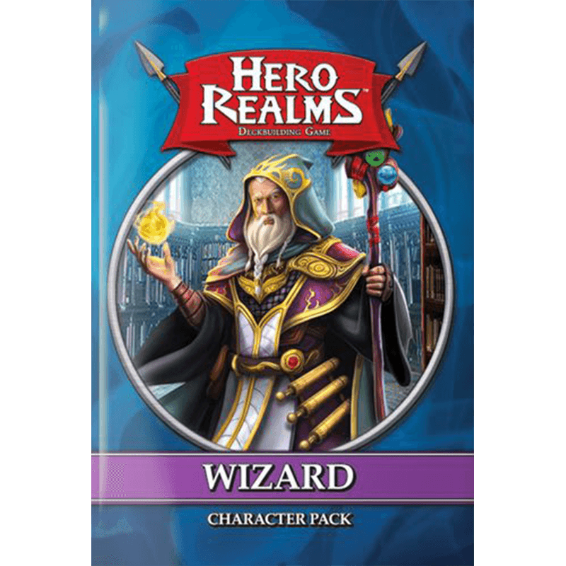 Hero Realms: Character Pack – Wizard - Thirsty Meeples