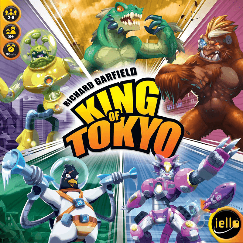King of Tokyo - Thirsty Meeples