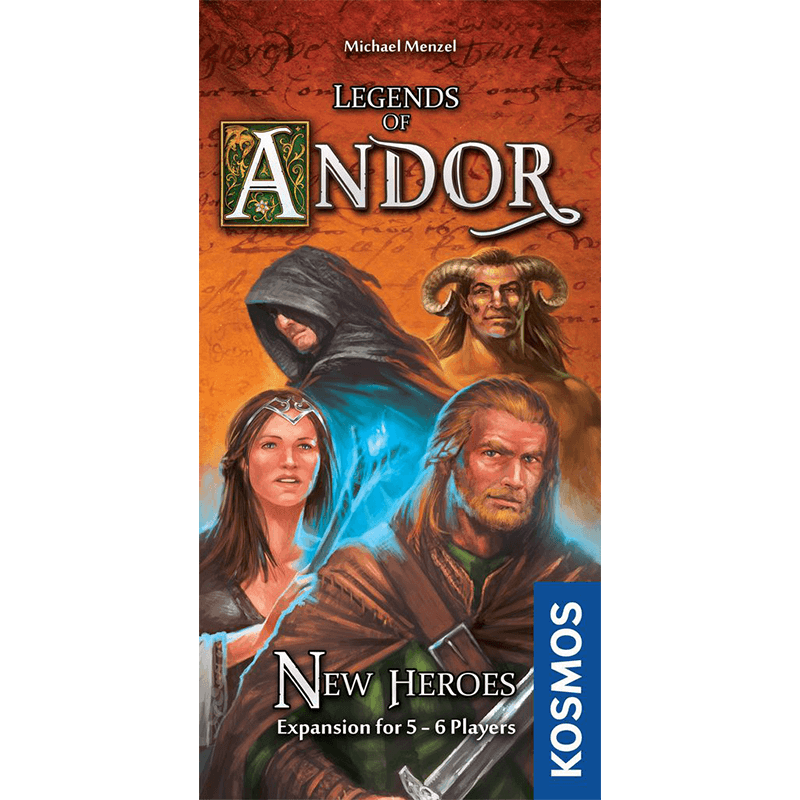 Legends of Andor: New Heroes - Thirsty Meeples
