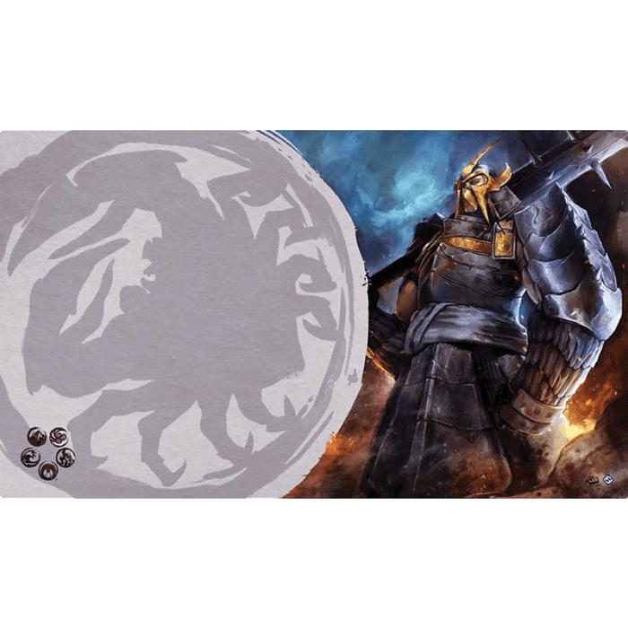 Legend of the Five Rings: The Card Game - Defender of the Wall Playmat