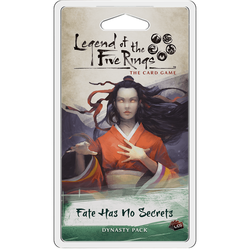 Legend of the Five Rings: The Card Game - Fate Has No Secrets Expansion Pack