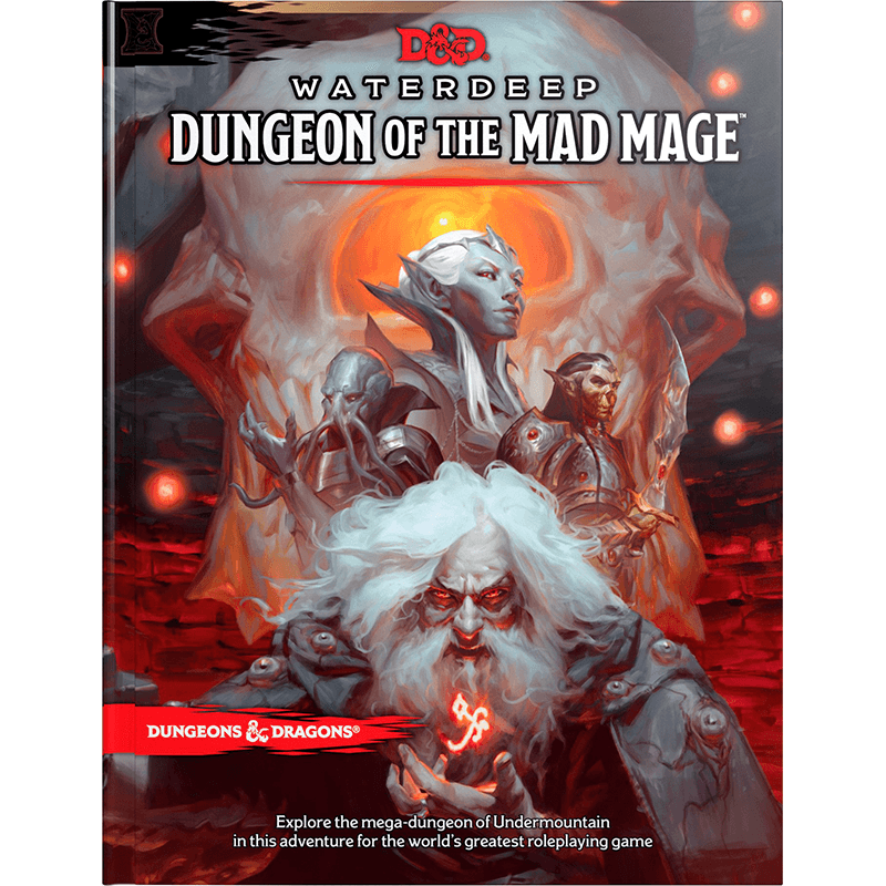 Dungeons & Dragons (5th Edition): Waterdeep: Dungeon of the Mad Mage