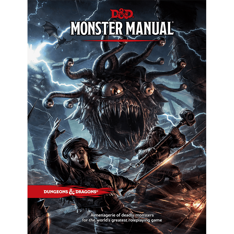 Dungeons & Dragons (5th Edition): Monster Manual