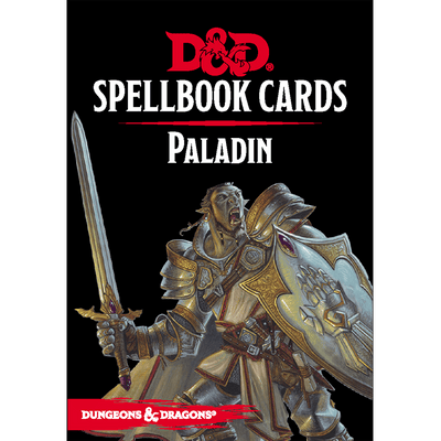 Dungeons & Dragons (5th Edition): Spellbook Cards - Paladin