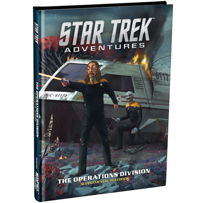 Star Trek Adventures:  The Operations Division Supplemental Rulebook