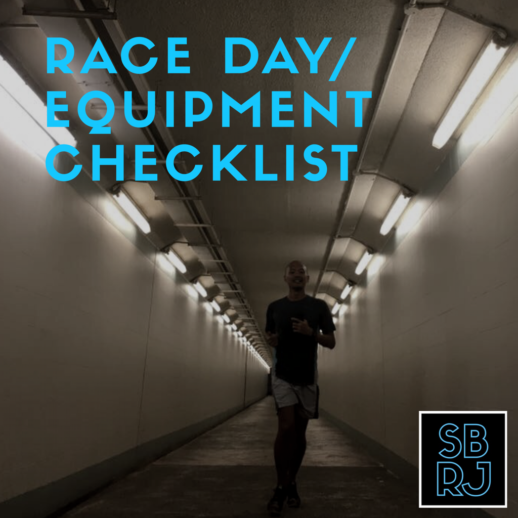 Race Day/Equipment Checklist