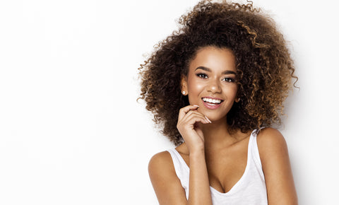 coloured natural hairstyles