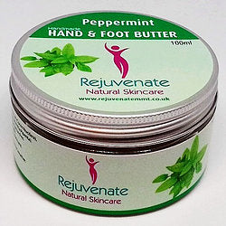 Rejuvenate Natural Skincare Peppermint Hand & Foot Butter