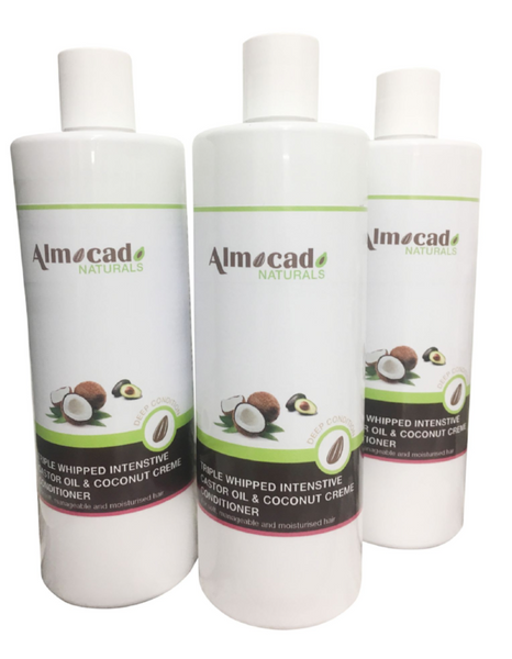 Almocado Organic Castor Oil & Coconut Creme Conditioner