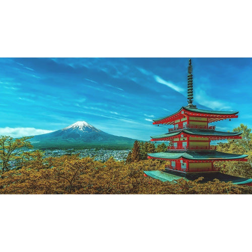 Fugi Volcano Japan Wall Mural - Premium-Creative Wallpaper