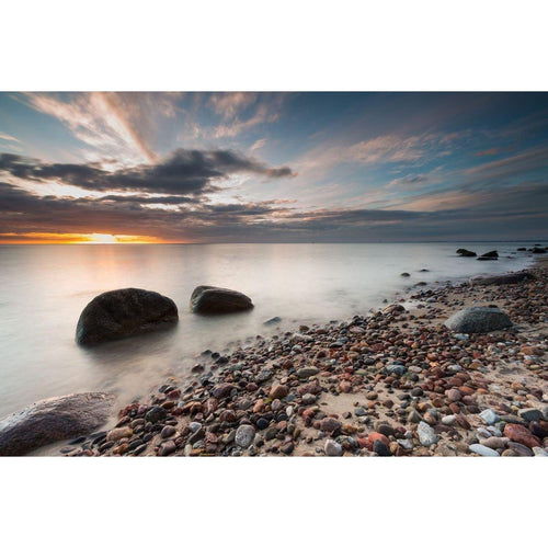 Pebble Beach Wall Mural - Premium-Creative Wallpaper