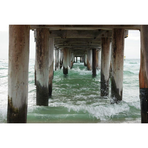Under Pier Jetty Wall Mural - Premium-Creative Wallpaper