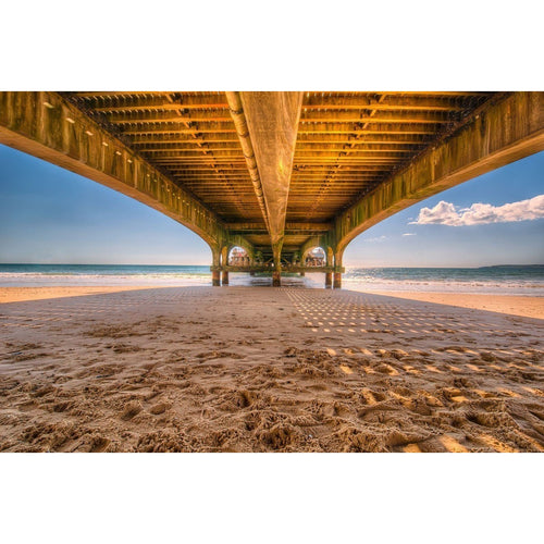 Pier Jetty Beach Wall Mural - Premium-Creative Wallpaper