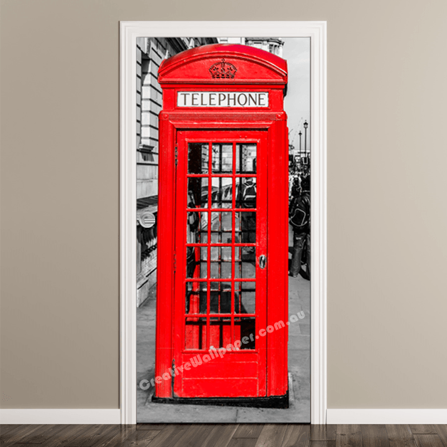 Door Murals - Premium Self Adhesive-Creative Wallpaper