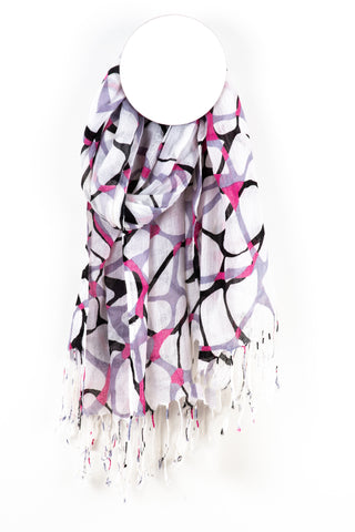 Abstract Pattern Scarf - Tom & Eva